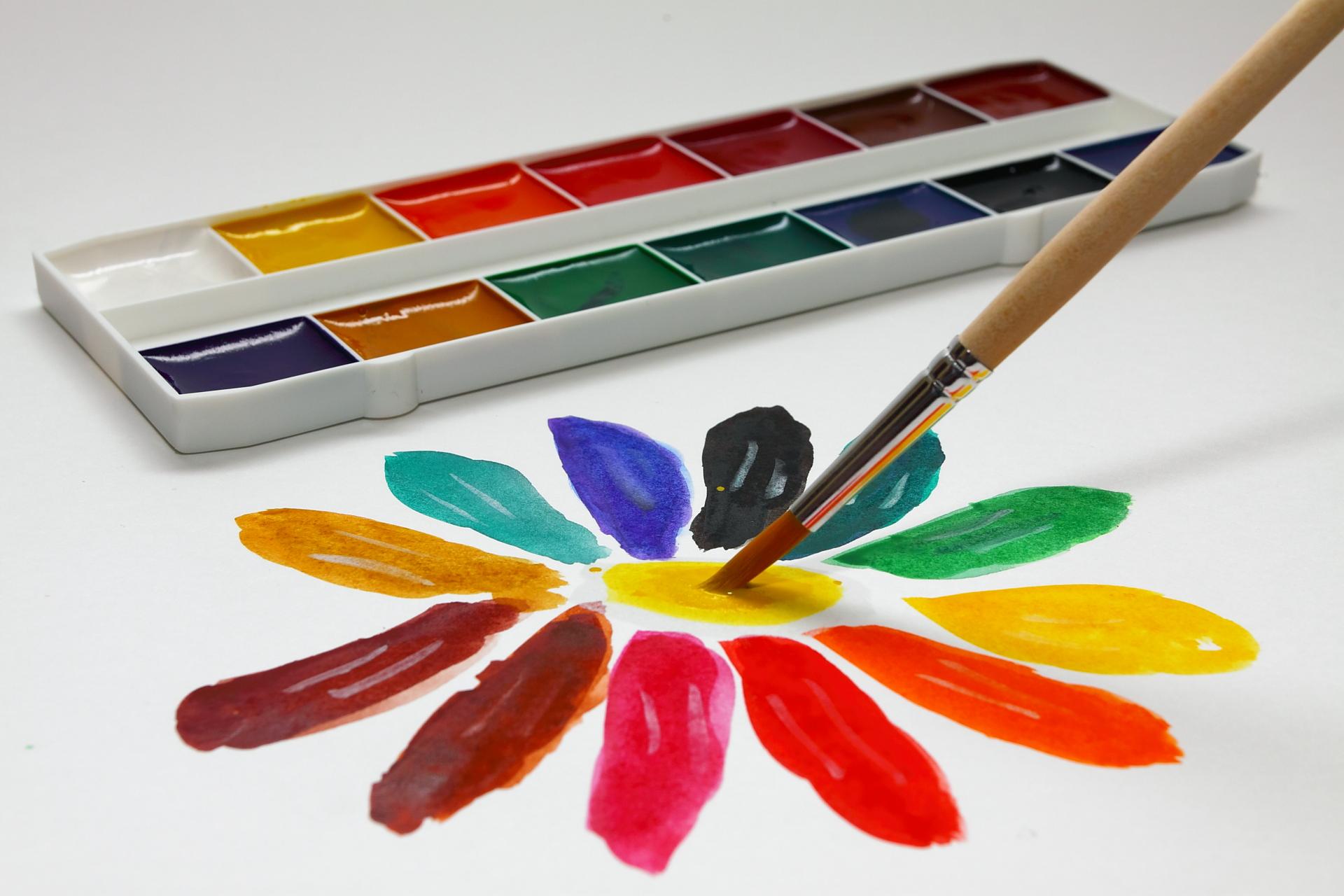 еще более картинки разноцветная палитра ситуации, когда вас
