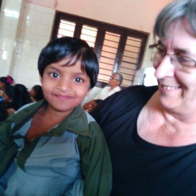 Charo Alonso en la India
