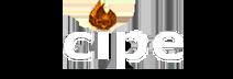 Logo strony Cipecar w kolorze białym