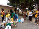 LIONS CLUB internacional (section Douala) cada ano, hace un don en material medical, de limpieza y de alimentación, respondiendo a las necesidades que  le presentamos.